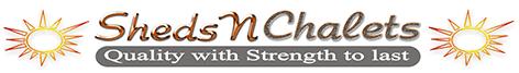 Sheds N Chalets - logo