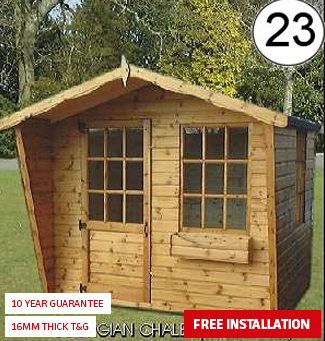 Georgian Chalet with Raked sides