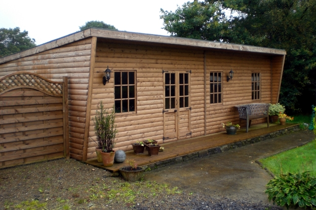 Pent Roof Home Office Sheds N Chalets
