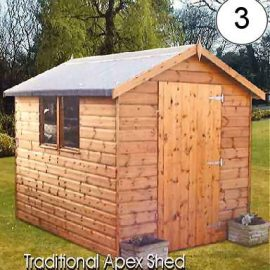 Traditional Apex Shed