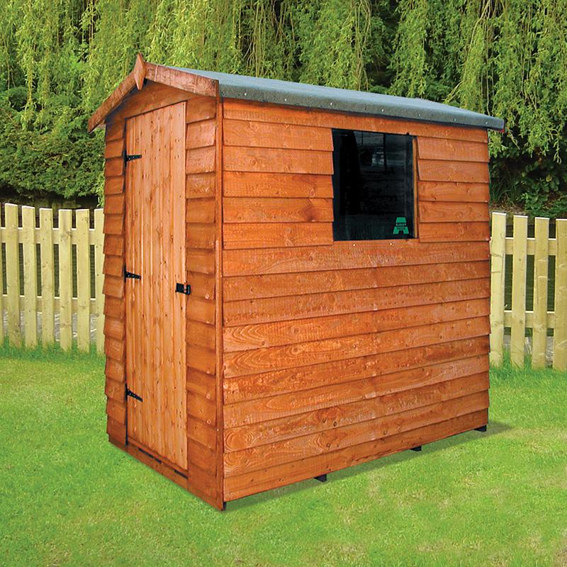 Cottage overlap apex shed sheds n chalets for Shed roof cottage