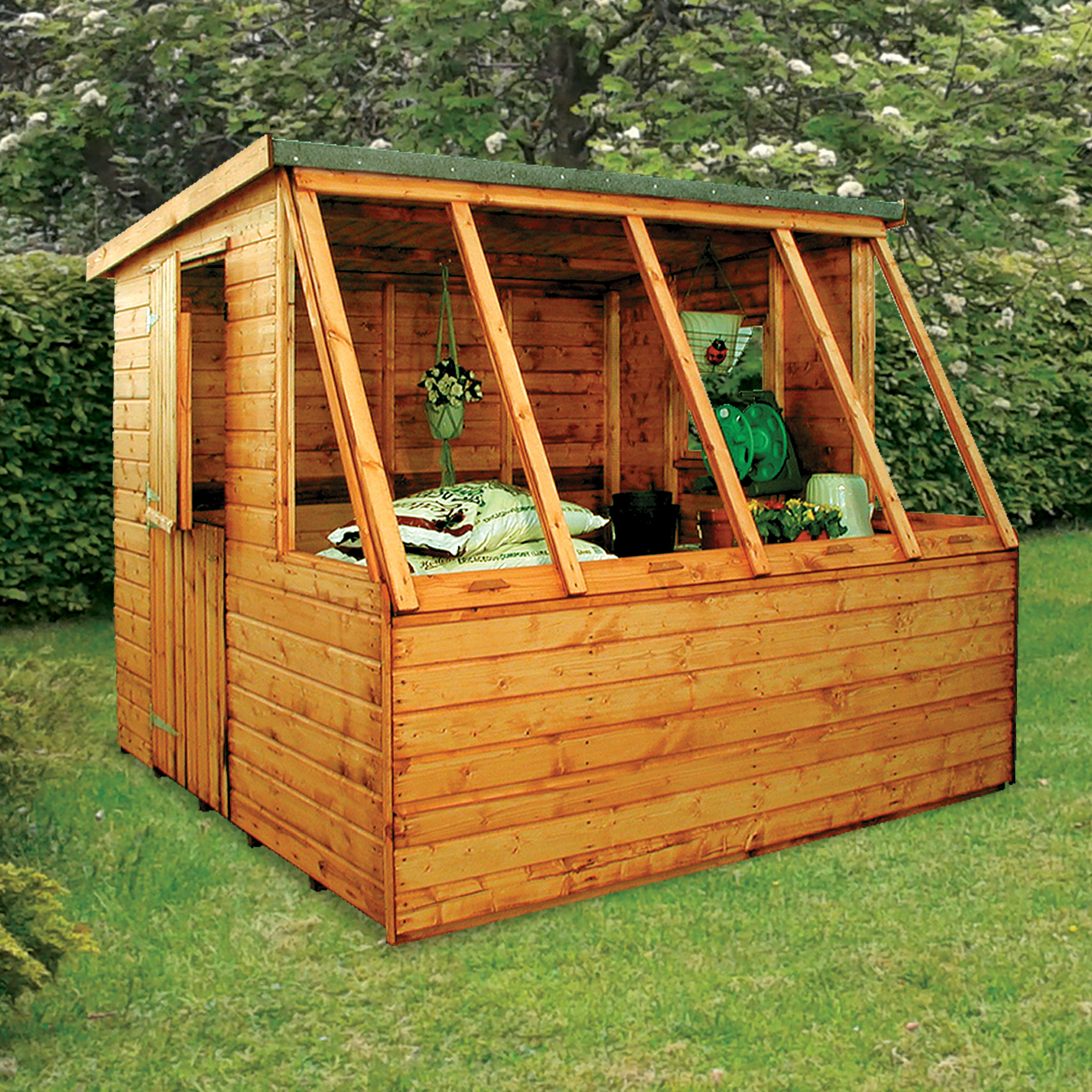 sheds potting storage devon help for oakford heroes accessible workshop wooden products the shed tiver ton our large